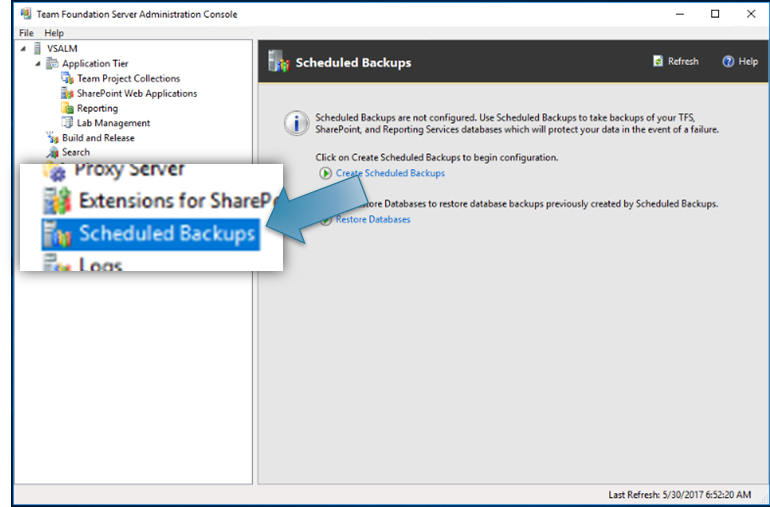 Creating Recoverable TFS Backups – Wintellect