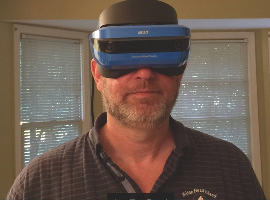 Getting Started with the New Acer Mixed Reality Headset – Wintellect