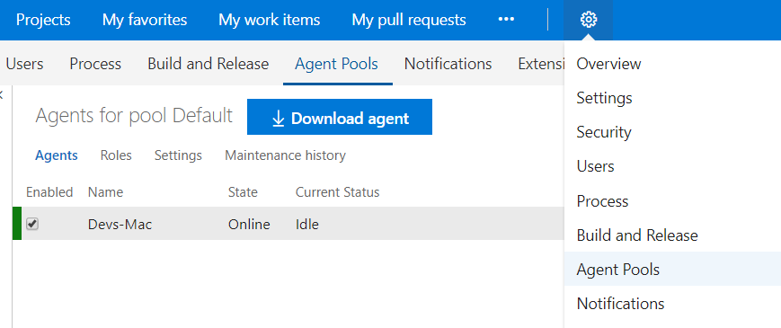 Installing VSTS Build Agents on macOS – Wintellect