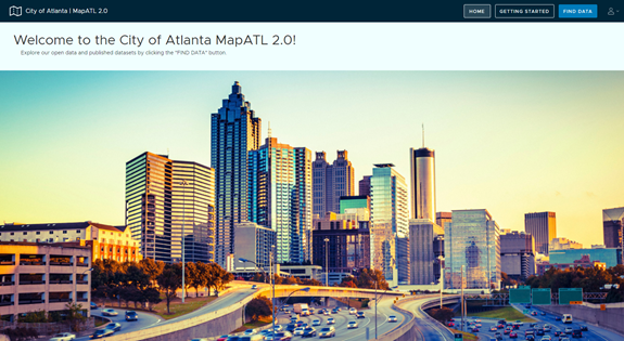 Smart City Atlanta: MapATL Citizen Alerting System