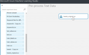Pre-processing Text Data with NLTK and Azure Machine Learning
